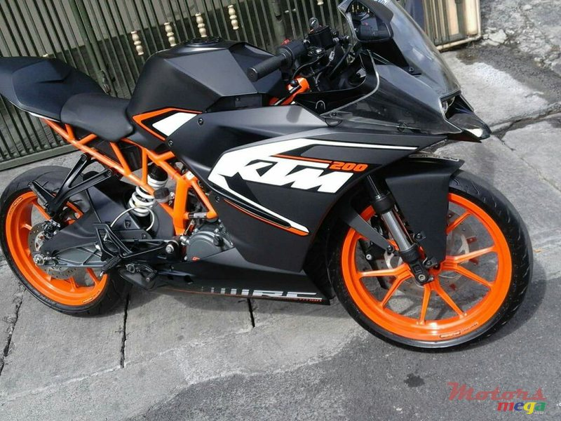 2017 KTM en Port Louis, Maurice