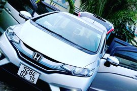 2015' Honda Fit Jant cosmic