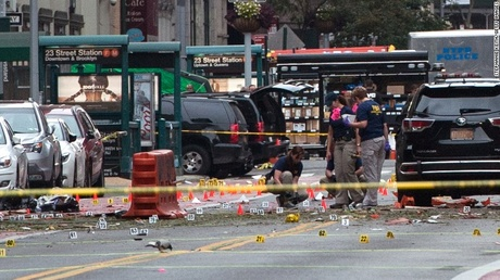 Explosion in Manhattan. An explosion in New York City injured 29