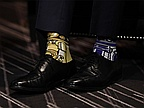 Justin Trudeau wore super geeky 'Star Wars' socks to meet the Irish Prime Minister