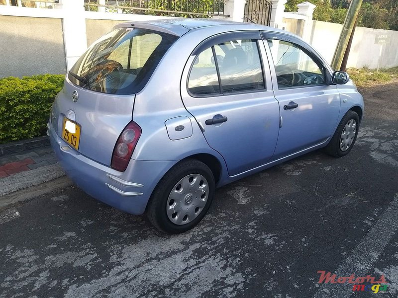 2003 Nissan March Ak12 in Port Louis, Mauritius - 7