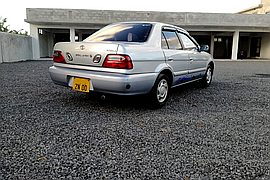 2000' Toyota Soluna GLI 1.5L MANUAL