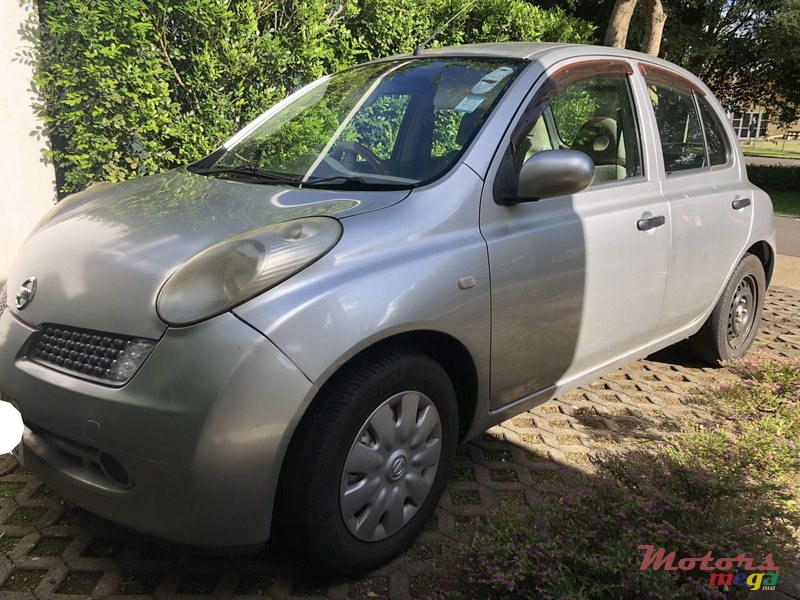 2006 Nissan March en Moka, Maurice