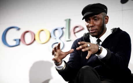 Archive Photo: musician Mos Def speaks on a panel discussing Google's new music search in Los Angele