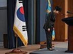 "South Korea's president said tragedy and ""loneliness"" drove her to rely on a shadowy female confidante"