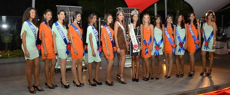 Archive Photo: Miss Mauritius 2014 Group Photo