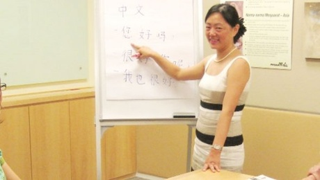 how to say mr zhang as a teacher in mandarin