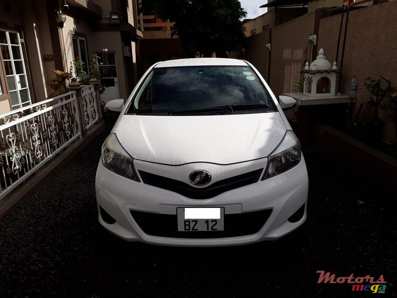 2012 Toyota Vitz For Sale Price Is Negotiable Vacoas