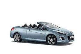 2012' Peugeot 308 cc - convertible -hard top