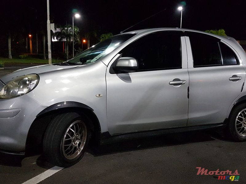 2011 Nissan March in Vacoas-Phoenix, Mauritius