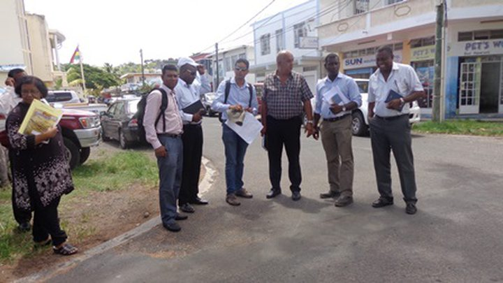 Partners in the work required to Port Mathurin, Francisco and Francois Simon Peter Roussety