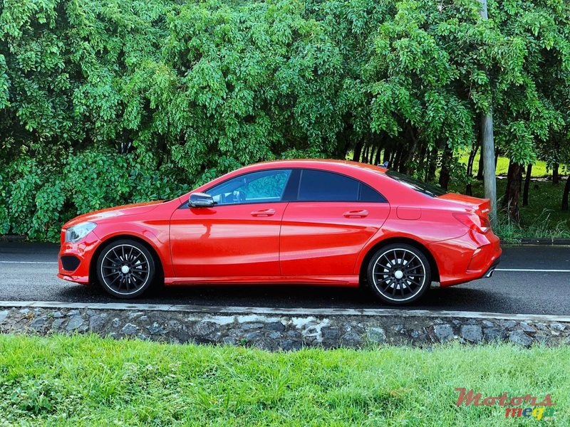 2016 Mercedes-Benz CLA 180 AMGLine 100th year anniversary in Port Louis, Mauritius