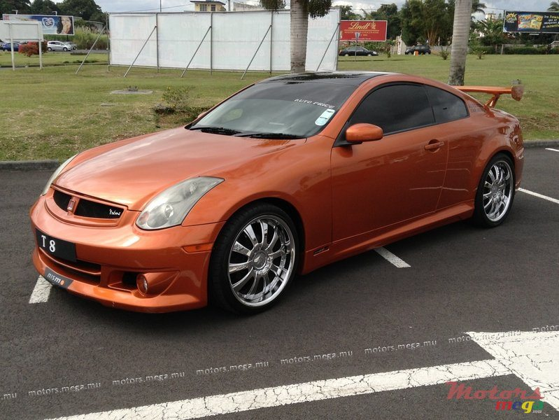 Royal South Toyota >> 2003' Nissan Skyline 350GT for sale - 850,000 Rs. Vacoas ...