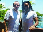 Golf: Alain Boghossian and Christian Karembeu in Mauritius!