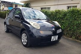 2004' Nissan March manual