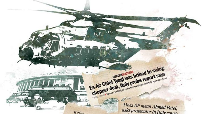 In 2010, AgustaWestland signed a Rs 3,546 crore contract to supply 12 AW-101 helicopters ...