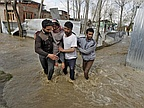 Heavy Rains Trigger Flood Fears in Kashmir; Six Dead