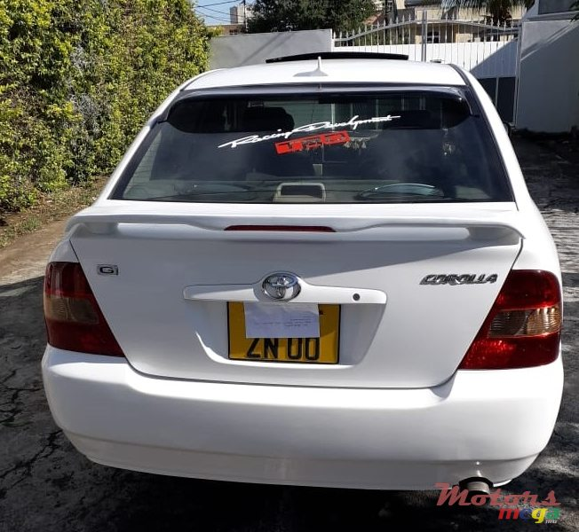 2000 Toyota Corolla NZE GRADE G FULL OPTION in Port Louis, Mauritius - 2