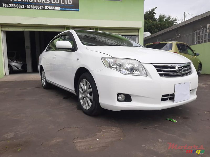 2009 Toyota Axio X LIMITED en Port Louis, Maurice - 2