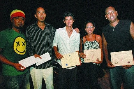 Mauritius jazz competition winners
