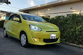 2012' Mitsubishi Automatic mirage