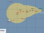 Weather: Moderate Tropical Storm Amara Intensifies