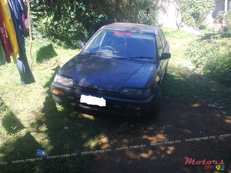 1988 Honda Civic For Sale 15 000 Rs Vacoas Phoenix