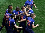 Dutch Down Brazil, Seal Third Place