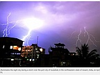 Lightning Strikes Kill at Least 90 in India