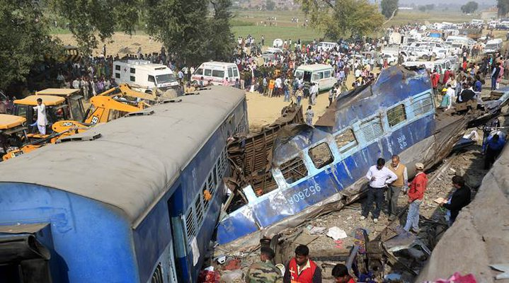 Indore-Patna Express crash