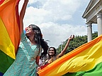 Joy in India after landmark ruling legalises gay sex