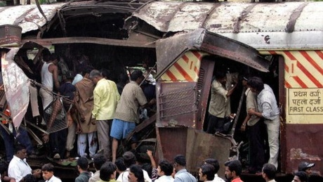 Archive Photo: Mumbai Train Blasts, 2006