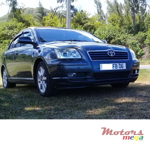 2006 Toyota Avensis Saloon in Port Louis, Mauritius