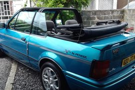 1990' Ford Escort convertible