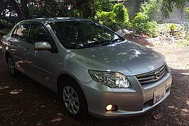 2010' Toyota Axio X H.i.D Limited