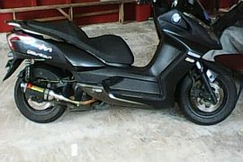 2015' Kymco exhaust pipe
