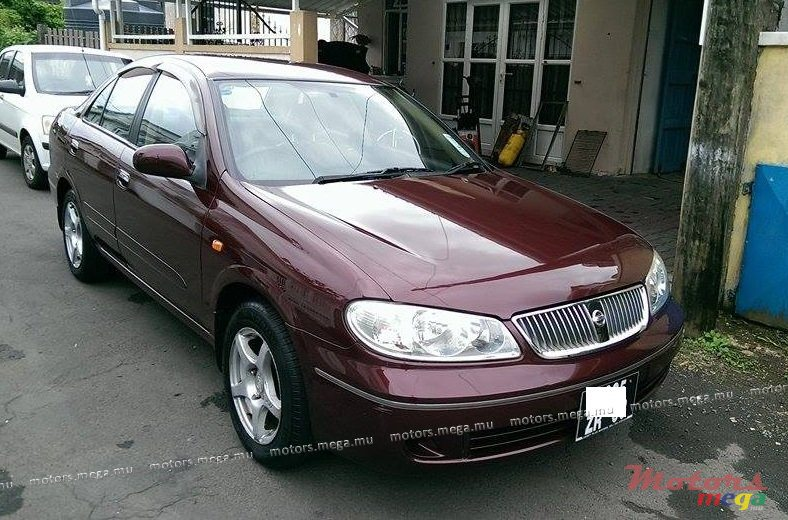 2003     Nissan       sunny       n17    for sale  220 000 Rs Curepipe  Mauritius