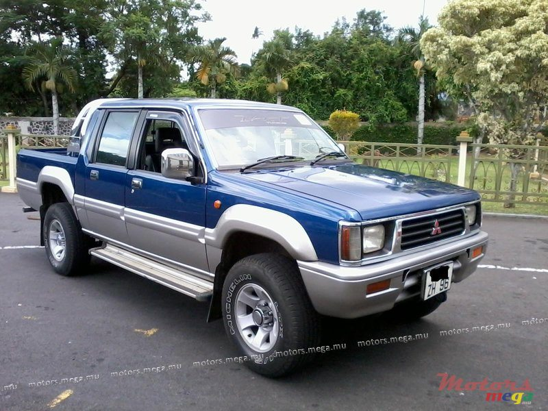 1996 39 mitsubishi strada 4x4 vendre 158 000 rs rose. Black Bedroom Furniture Sets. Home Design Ideas