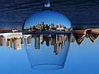 Picture of the Day: Sydney Through a Wine Glass