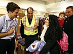 Canada Prime Minister Welcomes Wave of Syrian Refugees